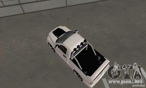 Dodge Ram SRT-10 Tuning para GTA San Andreas vista posterior izquierda