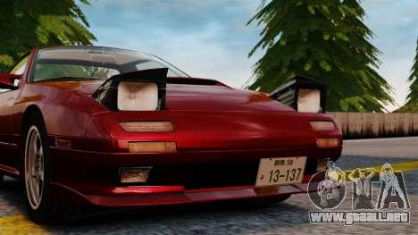 Mazda Savanna RX-7 para GTA 4 vista hacia atrás