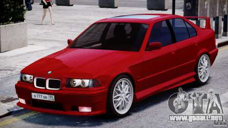BMW 318i Light Tuning v1.1 para GTA 4 left