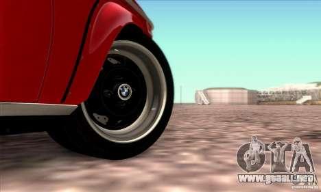 BMW 2002 Turbo para vista inferior GTA San Andreas