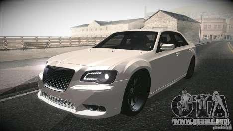 Chrysler 300 SRT8 2012 para GTA San Andreas