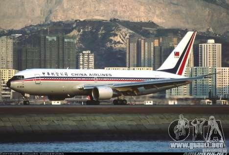 Pantallas de carga Boeing 767 para GTA San Andreas quinta pantalla