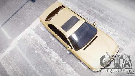 BMW 750i v1.5 para GTA 4 ruedas