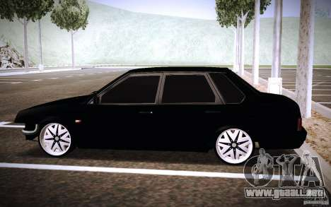VAZ 21099 Turbo para GTA San Andreas left