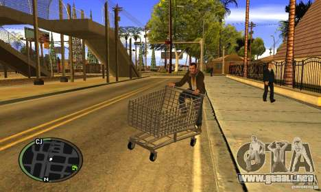 Shopping Cart Faggio V2 para GTA San Andreas