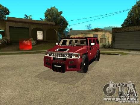 Hummer H2 Tuning para GTA San Andreas