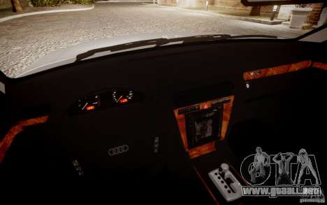 Audi A8 2000 para GTA 4 visión correcta
