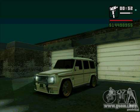Mercedes Benz G500 Dub Edition para GTA San Andreas left