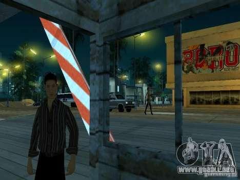 Arrastre ruta v 2.0 Final para GTA San Andreas sucesivamente de pantalla
