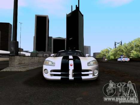 Dodge Viper SRT-10 Custom para vista lateral GTA San Andreas