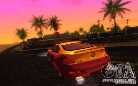 Awesome HD Graphic ENB Setts para GTA San Andreas tercera pantalla