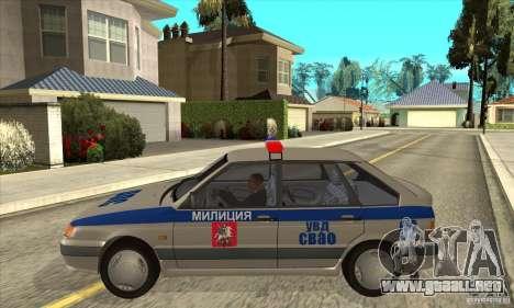 ВАЗ 2114 DPS para GTA San Andreas left
