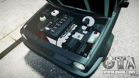 Volkswagen Golf 2 Low is a Life Style para GTA 4 left