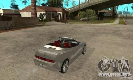 Alfa Romeo Spyder para la visión correcta GTA San Andreas