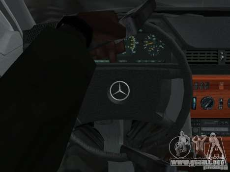 Mercedes-Benz 250D para vista lateral GTA San Andreas