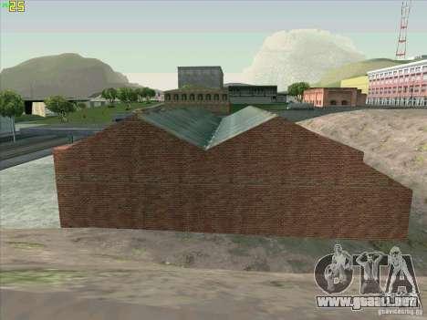 Nuevo garaje en Doherty para GTA San Andreas séptima pantalla