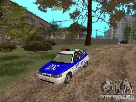 VAZ 21124 DPS para visión interna GTA San Andreas