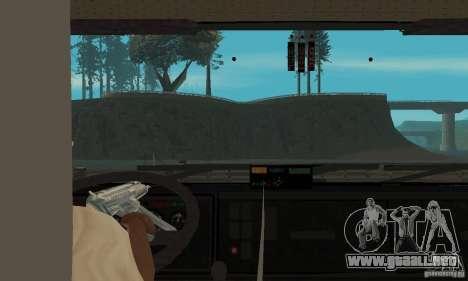 KAMAZ 65226 Tai v1.1 para GTA San Andreas vista hacia atrás