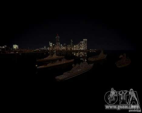 Marina de guerra para GTA 4 quinta pantalla