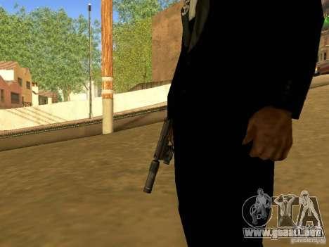 USP45 Tactical para GTA San Andreas tercera pantalla