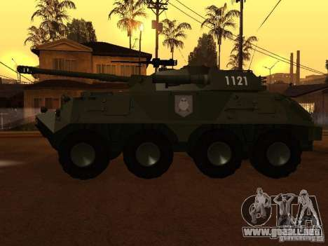 APC-60FSV para GTA San Andreas left