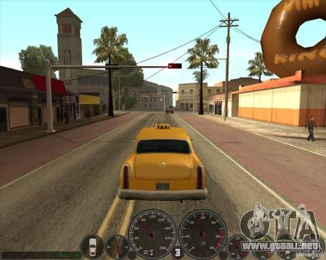 Memphis velocímetro v2.0 para GTA San Andreas tercera pantalla
