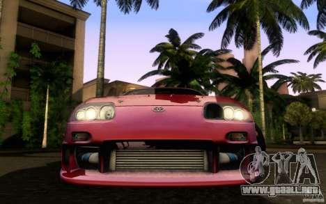 Toyota Supra Top Secret para la visión correcta GTA San Andreas