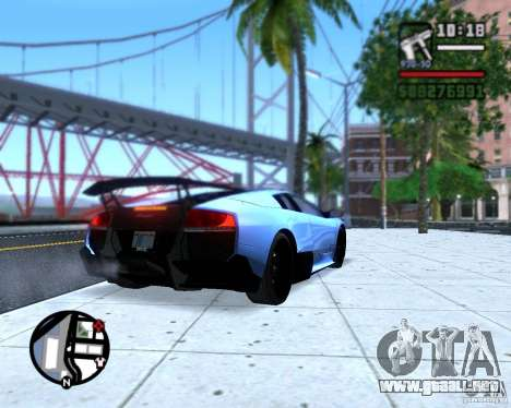 Enb series by LeRxaR para GTA San Andreas sucesivamente de pantalla