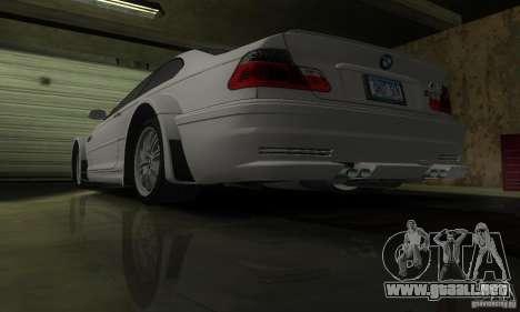 BMW M3 Tuneable para GTA San Andreas interior