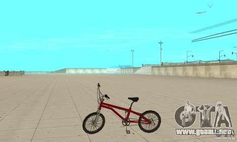 SA BMX para GTA San Andreas left