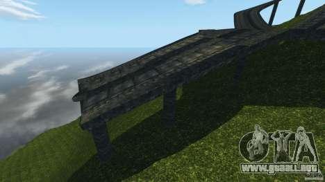 Crash Test Mountain para GTA 4 quinta pantalla