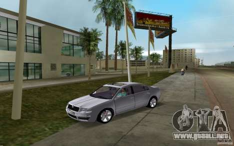 Skoda Superb 2.2 v.4 final para GTA Vice City