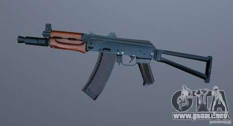 AK-74y para GTA Vice City segunda pantalla