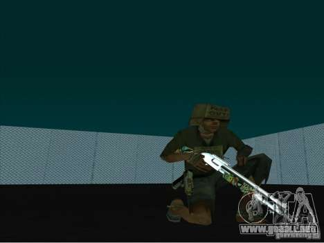 New Weapons Pack para GTA San Andreas segunda pantalla