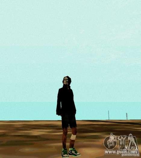 New Skin para GTA San Andreas tercera pantalla