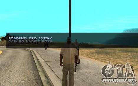 El soborno para GTA San Andreas