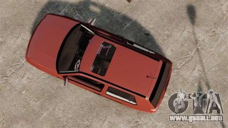 Volkswagen Golf MK3 Turbo para GTA 4 visión correcta