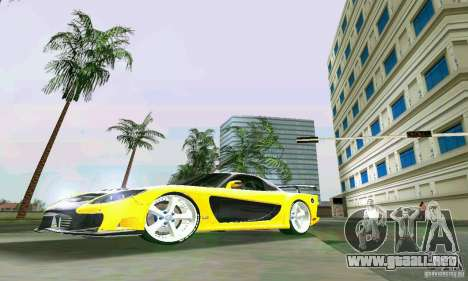Mazda RX7 VeilSide para GTA Vice City left