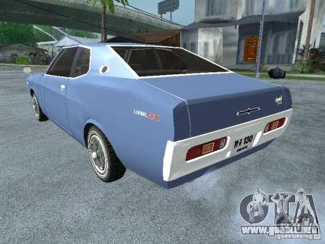 Nissan Laurel C130 para GTA San Andreas left