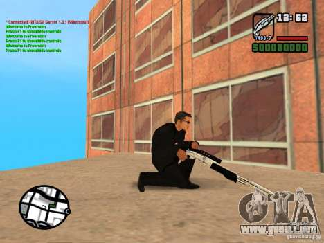 Gun Pack by MrWexler666 para GTA San Andreas novena de pantalla