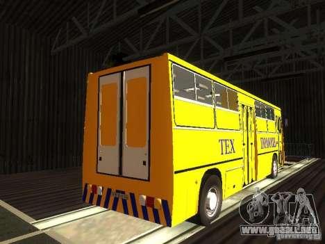 Técnico Ikarus 280 para la visión correcta GTA San Andreas