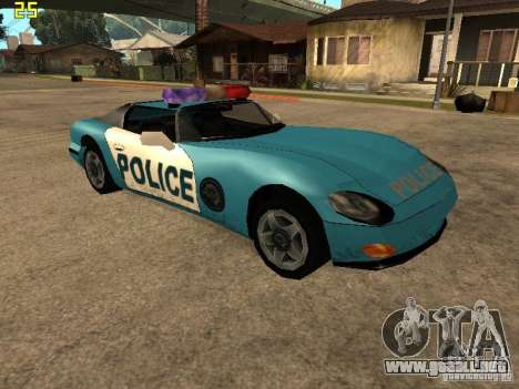 Banshee Police San Andreas para GTA San Andreas