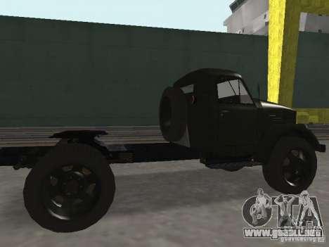 GAZ 51 p para GTA San Andreas vista posterior izquierda