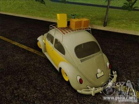 Volkswagen Beetle Edit para la visión correcta GTA San Andreas