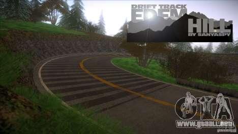 Edem Hill Drift Track para GTA San Andreas