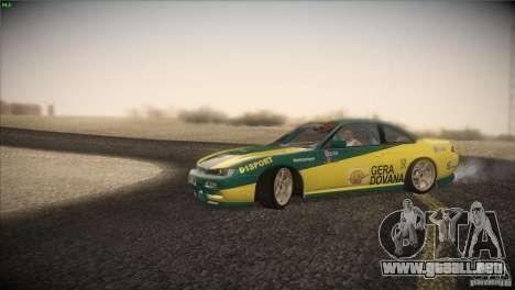 Nissan S14 para visión interna GTA San Andreas