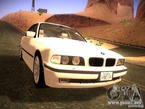 BMW 730i e38 1997 para GTA San Andreas