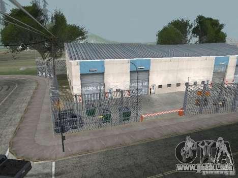 El primer taxi Parque versión 1.0 para GTA San Andreas sucesivamente de pantalla
