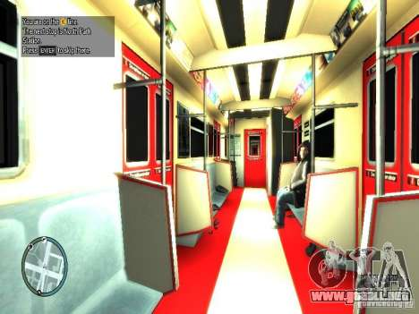 Train View para GTA 4
