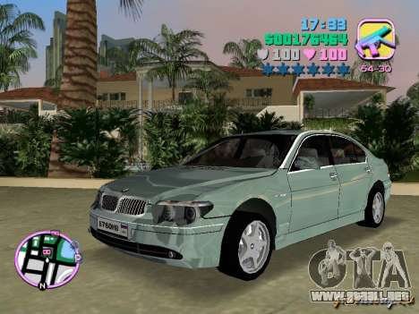BMW 760 Li para GTA Vice City